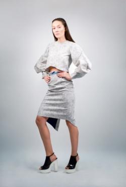 pieštuko formos sijonas + palaidinė