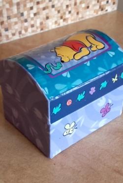 Mikė Pukuotukas dėžutė papuošalams ar smulkmenoms