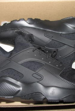 Nike air huarache ultra triple black kedai batai