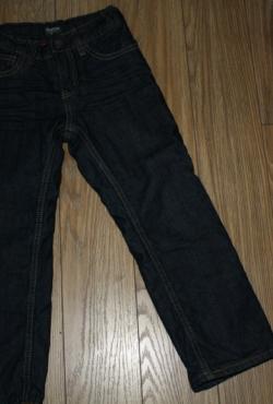 Storo džinso, su pamušalu, žieminės kelnės 4 m, berniukui